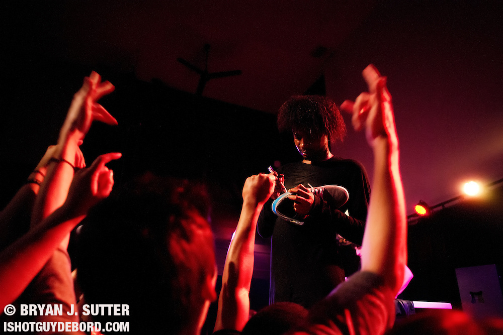 Few individuals in hip-hop strike a profile like Detroit's Danny Brown. His 2011 release XXX still holds as one of the best rap albums in recent memory. With his next record Old due in August, this tour would likely be the last time to see a set heavy on those cuts.<br />