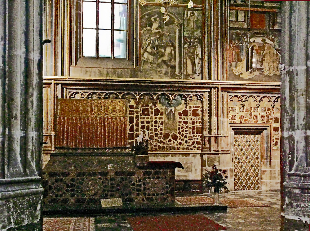 Tomb Of St Wenceslaus St Vitus Cathedral Prague Jld Tifft Images