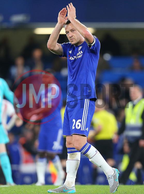John Terry of Chelsea - Mandatory byline: Paul Terry/JMP - 07966 386802 - 19/12/2015 - FOOTBALL - Stamford Bridge - London, England - Chelsea v Sunderland - Barclays Premier League