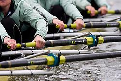 Cambridge Blue Boat training at Ely, Cambridgeshire
