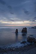 Sunset, Garrapata Beach, Big Sur, California