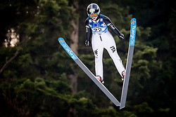 Manuela Malsiner (ITA) during 1st Round at Day 1 of FIS Ski Jumping World Cup Ladies Ljubno 2018, on January 27, 2018 in Ljubno ob Savinji, Ljubno ob Savinji, Slovenia. Photo by Ziga Zupan / Sportida