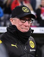Fussball  DFB Pokal  Achtelfinale  2017/2018   FC Bayern Muenchen - Borussia Dortmund        20.12.2017 Trainer Peter Stoeger (Borussia Dortmund)