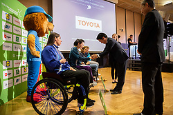 Kensuke Tsuchiya of Toyota Slovenija during Closing ceremony at Day 4 of 16th Slovenia Open - Thermana Lasko 2019 Table Tennis for the Disabled, on May 11, 2019, in Thermana Lasko, Lasko, Slovenia. Photo by Vid Ponikvar / Sportida