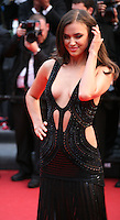 Irina Shayk at the All Is Lost film gala screening at the Cannes Film Festival Wednesday 22nd May 2013