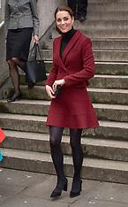 Duchess of Cambridge visits a UCL developmental neuroscience lab - 21 Nov 2018