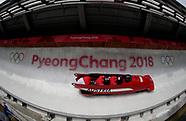 Men - 4 Man Bobsleigh Team Heats - 24 February 2018