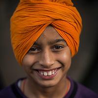 A Child at Hola Mohalla.