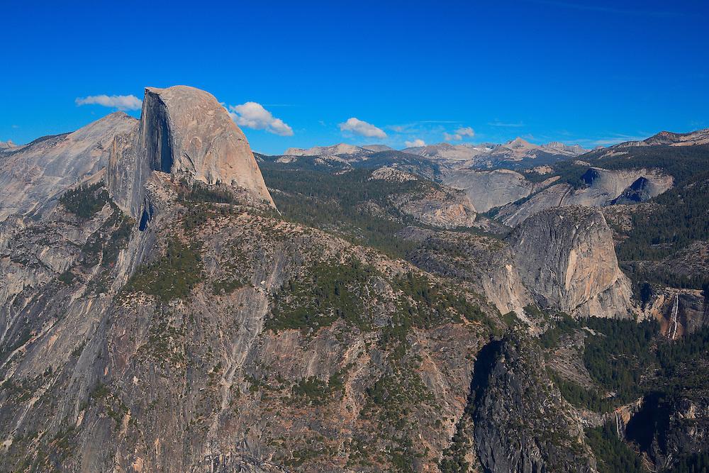 Half Dome And Little Yosemite Valley - Glacier Point View - Yosemite