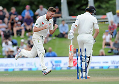 Christchurch-Cricket, New Zealand v Australia, 2nd test, day 4