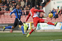 Orient's Chris Dagnall  - Photo mandatory by-line: Mitchell Gunn/JMP - Tel: Mobile: 07966 386802 22/02/2014 - SPORT - FOOTBALL - Brisbane Road - Leyton - Leyton Orient V Swindon Town - League One