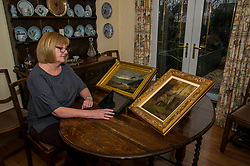 Pictured: <br /> Carol Brand (58) is appealing for help in tracing a stash of documents found in a treasure chest years ago linking her family to some of the UK's most famous historical figures.<br /> <br /> Carol recently stumbled upon a Courier news story from 2013 in which Dundee man Richard Brown told of finding a host of amazing documents in the chest, which was stored in his attic.<br /> <br /> The information in it linked two Dundee families, the Thoms' and Jobsons, to hugely influential and powerful figures such as Robert Burns, Queen Elizabeth I and Sir Walter Scott.<br /> <br /> At the time of the find, Mr Brown said he had inherited the chest over 30 years ago after his aunt, Jean Bell, passed away.<br /> <br /> Carol says her mother's family are related to Jean Bell's husband, William Bell.<br /> <br /> <br /> <br /> <br /> Ger Harley | EEm 4 April 2018