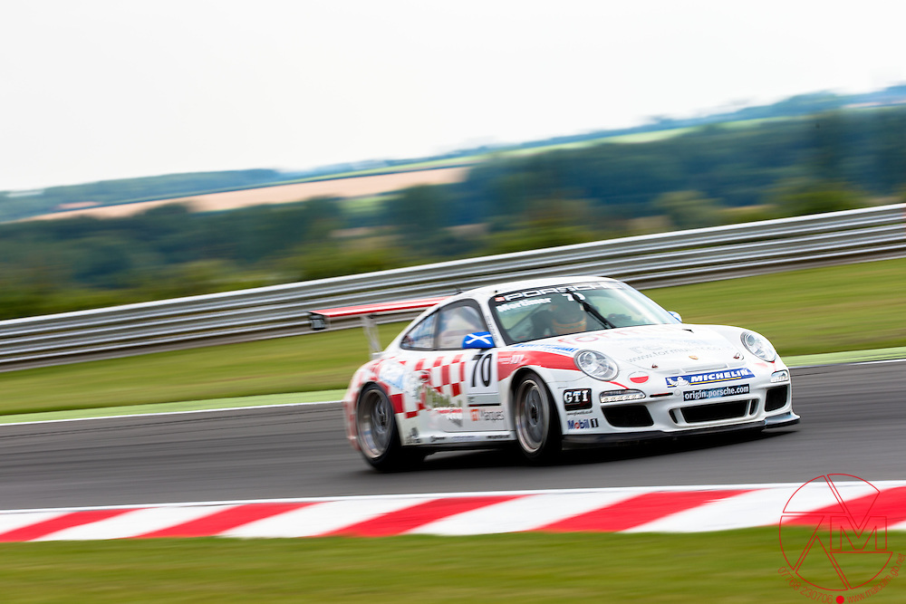 Porsche Carrera Cup GB 2012.Snetterton, Norfolk..ROUND 11&12.10th,11th&12th August 2012.Oly Mortimer (GBR) GT Marques .Images copyright Malcolm Griffiths..Contact:07768 230706.info@mgphoto.uk.com.www.malcolm.gb.net