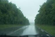 France Burgundy landscape, floodings