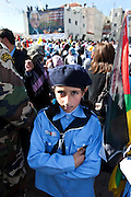 Demonstration in remembrance of the fifth anniversary of the death of Yasser Arafat.