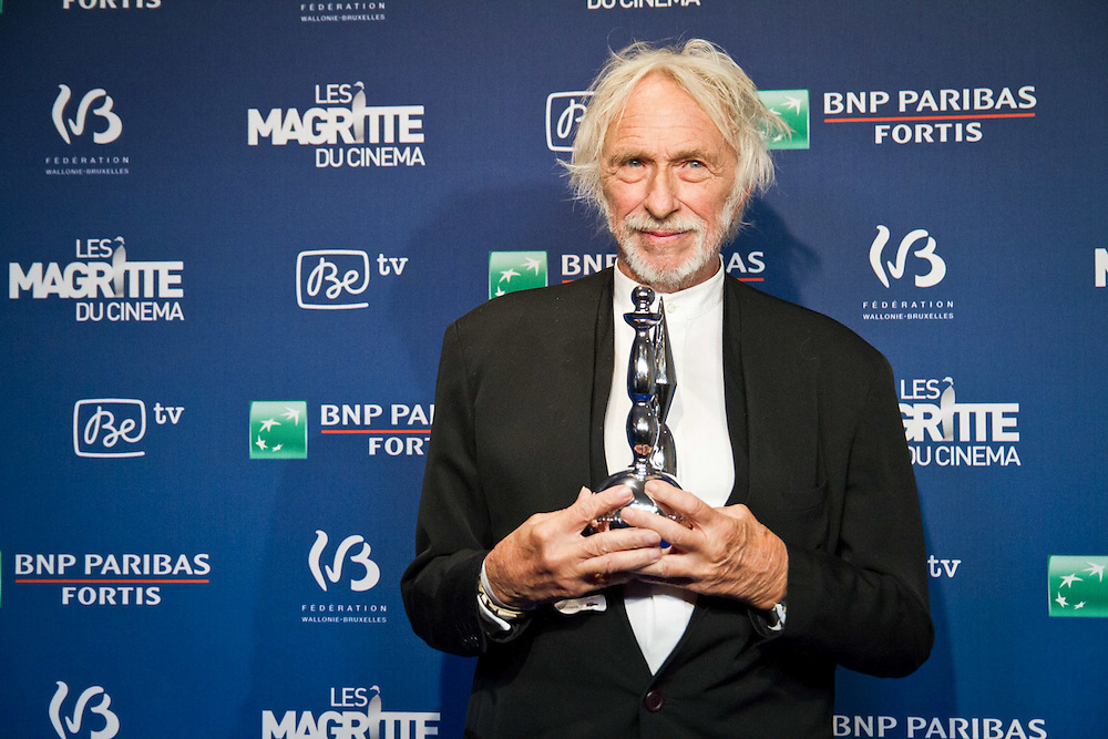 Pierre Richard, Lifetime Achievement Award, at the Magritte Awards celebrating the best of the Belgian Movie Industry.