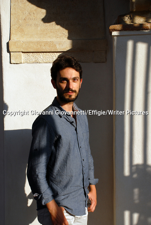 Giorgio Fontana, Festivaletteratura Mantova <br /> 07 September 2014<br /> <br /> Photograph by Giovanni Giovannetti/Effigie/Writer Pictures <br /> <br /> NO ITALY, NO AGENCY SALES