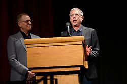 """Rob Epstein and Jeffrey Friedman of the Oscar® nominated documentary short subject """"End Game"""" during the Academy of Motion Picture Arts and Sciences' """"Oscar Week: Documentaries"""" event on Tuesday, February 19, 2019 at the Samuel Goldwyn Theater in Beverly Hills. The Oscars® will be presented on Sunday, February 24, 2019, at the Dolby Theatre® in Hollywood, CA and televised live by the ABC Television Network."""
