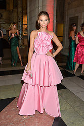 SOPHIE HERRMAN at the Revlon Choose Love Masquerade Ball held at the V&A Museum, Cromwell Road, London on 21st July 2016.