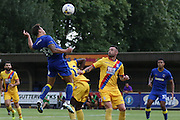 AFC Wimbledon midfielder David Fitzpatrick (19) during the Pre-Season Friendly match between AFC Wimbledon and Crystal Palace at the Cherry Red Records Stadium, Kingston, England on 27 July 2016. Photo by Stuart Butcher.