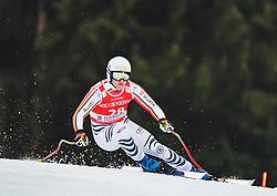 31.01.2020, Kandahar, Garmisch, GER, FIS Weltcup Ski Alpin, Abfahrt, Herren, 2. Training, im Bild Romed Baumann (GER) // Romed Baumann of Germany in action during his 2.nd trainings run of men's Downhill of FIS ski alpine world cup at the Kandahar in Garmisch, Germany on 2020/01/31. EXPA Pictures © 2020, PhotoCredit: EXPA/ Johann Groder