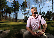 Hingham, MA 041912  Gil Hansen (Cq) will be designing a golf course for the 2016 Brazil Olympics. We photographed him at the Boston Golf Club in Hingham on April 19, 2012. (Essdras M Suarez/ Globe Staff)/ SPT