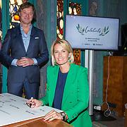 NLD/Amsterdam/20190910 - Lancering Platform Celebabs, Frits Sissing en Anouk Smulders
