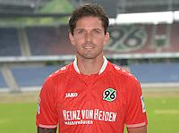 German Soccer Bundesliga 2015/16 - Photocall of Hannover 96 on 13 July 2015 in Hanover, Germany: Leon Andreasen.