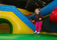Jump 'n Joy for the WLNH Children's Auction December 2, 2012.   (Karen Bobotas/for the Laconia Daily Sun)