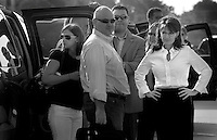 Sarah Palin: She Could Have Been Vice President..Boarding a plane in St. Louis, Missouri, Alaska Gov. Sarah Palin, accompanied by staffers, leaves on route to a Mississippi Emergency Management Operations Command Center  ? August 31, 2008.  Palin, at right, with staff.