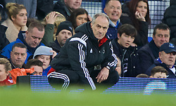 LIVERPOOL, ENGLAND - Sunday, January 24, 2016: Swansea City's manager Francesco Guidolin during the Premier League match against Everton at Goodison Park. (Pic by David Rawcliffe/Propaganda)