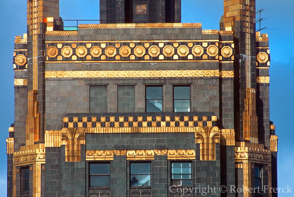CHICAGO, LOOP ARCHITECTURE Carbide and Carbon Building, Art Deco, 1929