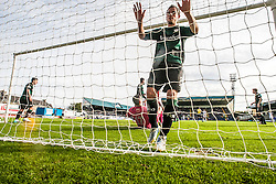 Raith Rovers Barry McKeown.<br /> Raith Rovers 0 v 0 Falkirk, Scottish Championship game played 27/9/2014 at Raith Rovers Stark Park.
