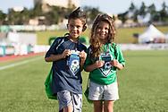 July 17, 2019: OKC Energy FC plays Reno 1868 FC in a USL match at Taft Stadium in Oklahoma City, Oklahoma.