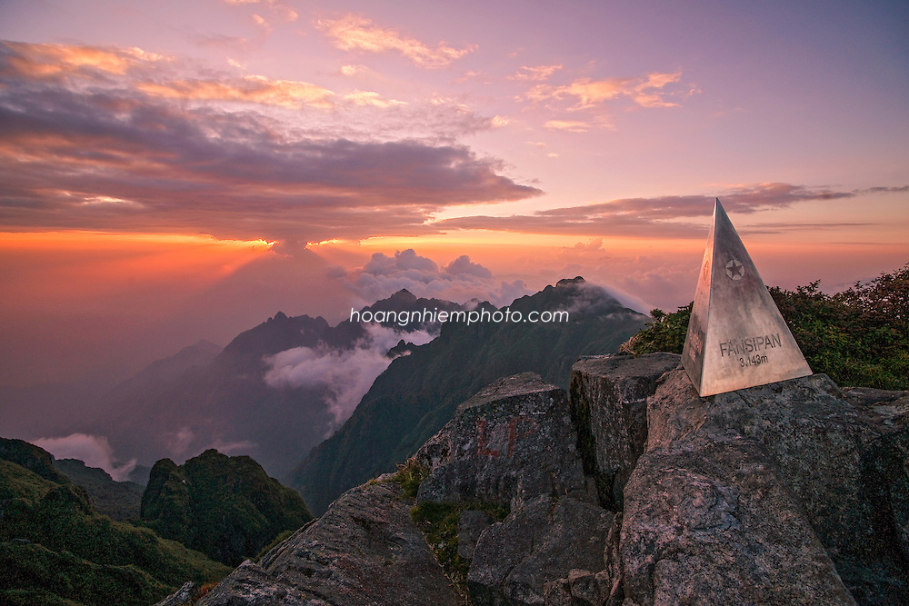 Vietnam Images-landscape-Fansipan peak-Sapa Hoàng thế Nhiệm