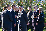 "PRINCE WILLIAM MEETS THE OLD GUARD.at the funeral of his nanny Olga Powell, who died recently at the age of 82-years old. The service was held at Parndon Wood Crematorium, Harlow, Essex.Princess Diana's sisters Lady Jane Fellowes and Lady sarah McCorquodale were also present. 10/10/2012.Mandatory credit photo: ©Dias/NEWSPIX INTERNATIONAL..(Failure to credit will incur a surcharge of 100% of reproduction fees)..                **ALL FEES PAYABLE TO: ""NEWSPIX INTERNATIONAL""**..IMMEDIATE CONFIRMATION OF USAGE REQUIRED:.DiasImages, 31a Chinnery Hill, Bishop's Stortford, ENGLAND CM23 3PS.Tel:+441279 324672  ; Fax: +441279656877.Mobile:  07775681153.e-mail: info@newspixinternational.co.uk"