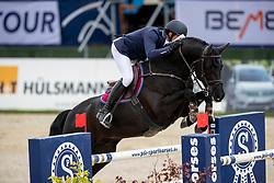 VAN HEEL Arne (NED), Donald<br /> Hagen - Horses and Dreams 2019<br /> Preis der LVM Versicherung - CSI4* Quali. BEMER-RIDERS TOUR-Wertung<br /> 27. April 2019<br /> © www.sportfotos-lafrentz.de/Stefan Lafrentz