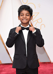 Feb 26, 2017 - Hollywood, California, U.S. - SUNNY PAWAR during red carpet arrivals for the 89th Academy Awards. (Credit Image: © Lisa O'Connor via ZUMA Wire)