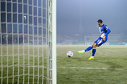 Alex Rodman of Bristol Rovers scores his penalty in the shoot out against Leyton Orient - Mandatory by-line: Robbie Stephenson/JMP - 04/12/2019 - FOOTBALL - Memorial Stadium - Bristol, England - Bristol Rovers v Leyton Orient - Leasing.com Trophy