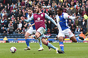 Aston Villa Midfielder, Gary Gardner (22) during the EFL Sky Bet Championship match between Blackburn Rovers and Aston Villa at Ewood Park, Blackburn, England on 29 April 2017. Photo by Mark Pollitt.
