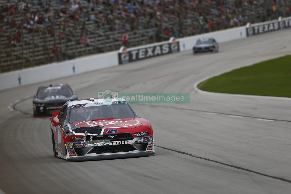 November 3, 2018 - Ft. Worth, Texas, United States of America - Ryan Reed (16) battles for position during the O'Reilly Auto Parts Challenge at Texas Motor Speedway in Ft. Worth, Texas. (Credit Image: © Justin R. Noe Asp Inc/ASP via ZUMA Wire)