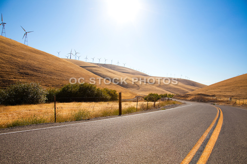 Highway California Desert Landscape
