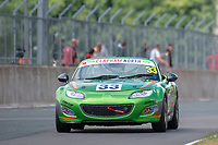 #33 James KELL Mazda MX-5 Mk3  during BRSCC Mazda MX-5 Super Series  as part of the BRSCC NW Mazda Race Day  at Oulton Park, Little Budworth, Cheshire, United Kingdom. June 16 2018. World Copyright Peter Taylor/PSP. Copy of publication required for printed pictures. http://archive.petertaylor-photographic.co.uk