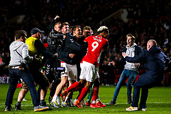 Charlton Athletic celebrate after beating Doncaster Rovers on penalties in the Sky Bet League One Playoff Semi Final - Mandatory by-line: Robbie Stephenson/JMP - 17/05/2019 - FOOTBALL - The Valley - Charlton, London, England - Charlton Athletic v Doncaster Rovers - Sky Bet League One Play-off Semi-Final 2nd Leg
