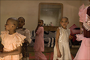 young homeless, abandoned or mentally ill children at the Sattar Edhi Women's Home in north Karachi