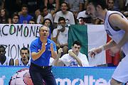 LIGNANO SABBIADORO, 13 LUGLIO 2015<br /> BASKET, EUROPEO MASCHILE UNDER 20<br /> ITALIA-SERBIA<br /> NELLA FOTO: Stefano Sacripanti<br /> FOTO FIBA EUROPE/CASTORIA