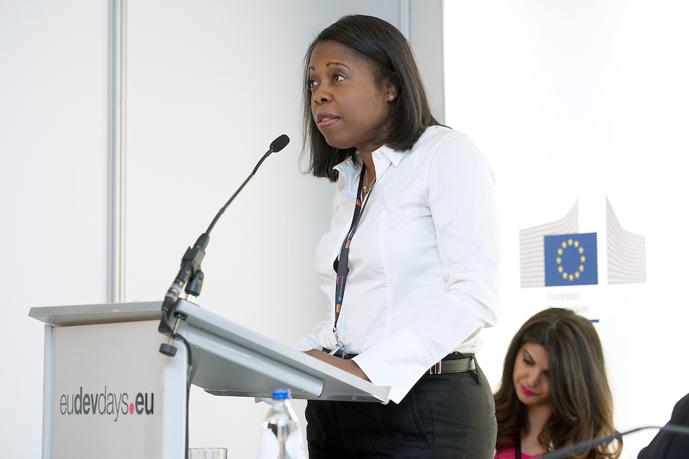 03 June 2015 - Belgium - Brussels - European Development Days - EDD - Citizenship - Culture - The forgotten lifeblood of development - Michele Dominique Raymond , Former Under Secretary-General , African-Caribbean-Pacific Group © European Union