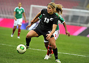 Rosie White in action - Feb 15, 2014; Yongchuan, CHINA; Mexico defeats New Zealand 2:1 during a match at the 2014 Yongchuan International Women's Football Tournament.