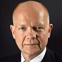 William Hague, Baron Hague of Richmond, PC, FRSL is a British Conservative politician and life peer. He represented Richmond, Yorkshire, as its Member of Parliament (MP) from 1989 to 2015 and was the Leader of the Opposition from 1997 to 2001. He was Secretary of State for Foreign and Commonwealth Affairs from 2010 to 2014 and was the Leader of the House of Commons from 2014 to 2015.<br /> <br /> Baron Hague sat for a portrait to be included in my Northerners Exhibition. His name is synonymous with modern political discourse, but to meet him in person, you would not think it. He is a very witty man who was reeling jokes off through the entire sitting. I was pleasantly surprised with how well he held himself for the portrait, so well in fact that the finished frame is very reminiscent of a Holbein piece – dignified and full of grace and authority.