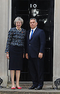 UK: May welcomes Hungarian PM Viktor Orban, 9 Nov. 2016